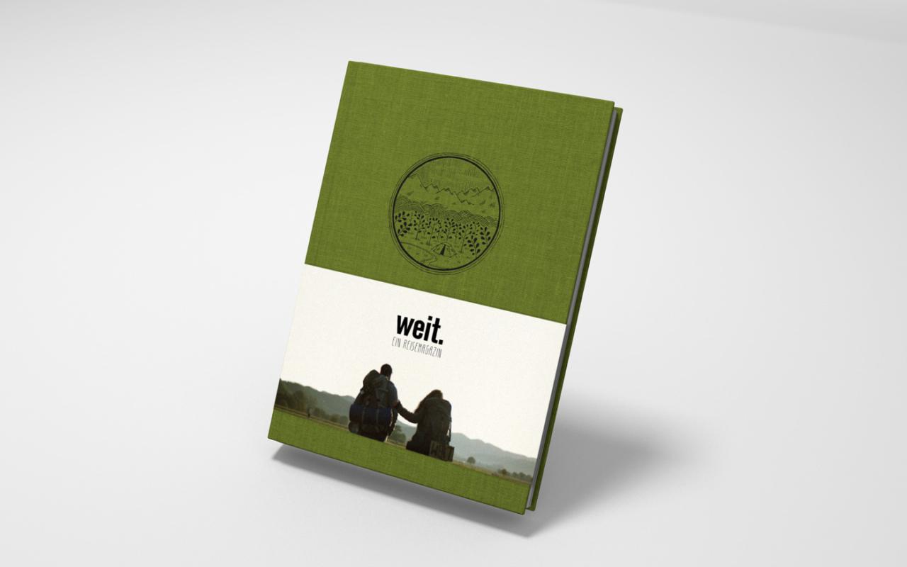 Julian Henschel Graphicdesign & Art Direction Weit. Ein Reisemagazin