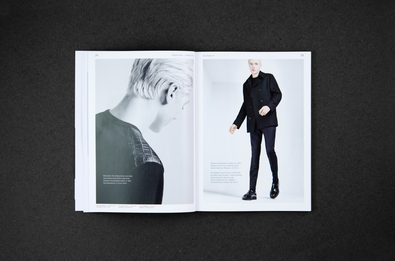 Julian Henschel Graphicdesign & Art Direction HUGO Collection Guide