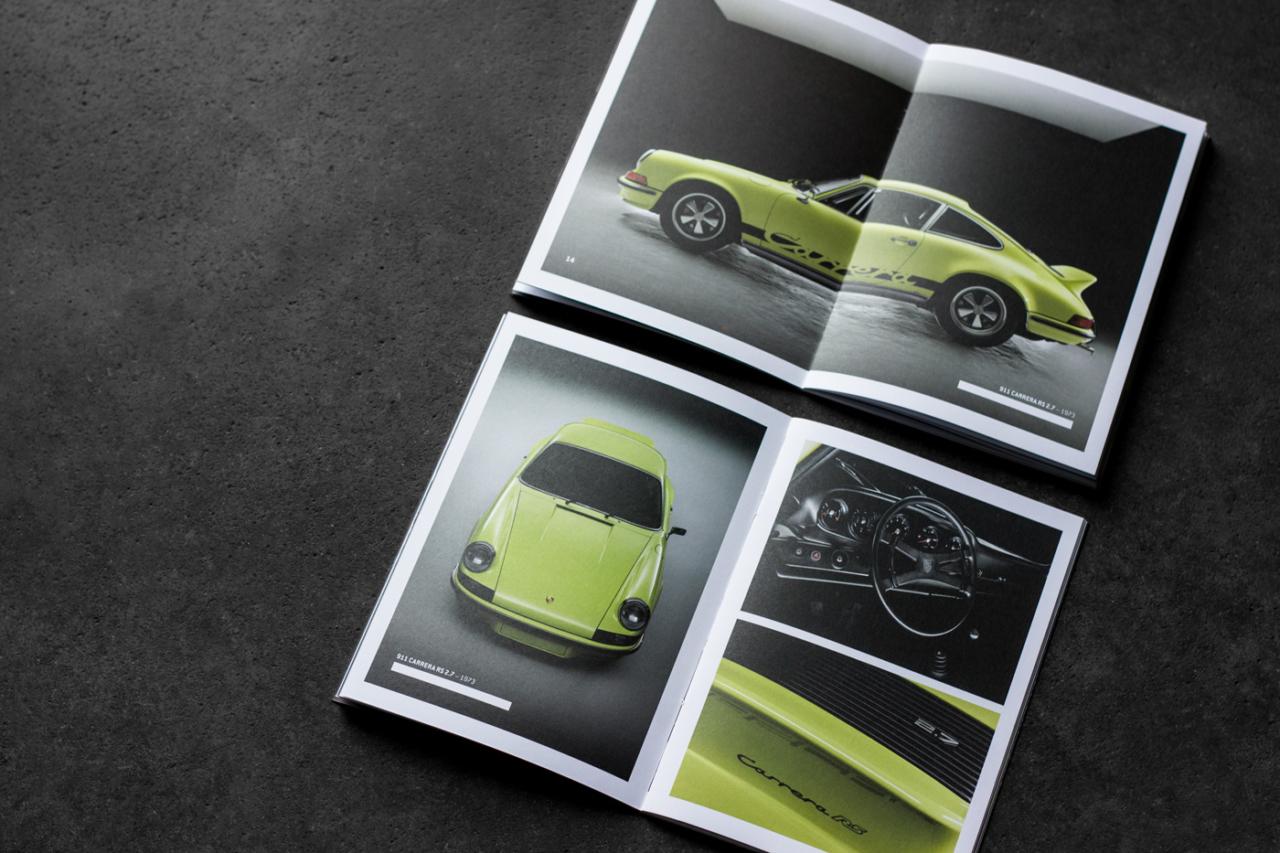 Julian Henschel Graphicdesign & Art Direction The Porsche 911 Book