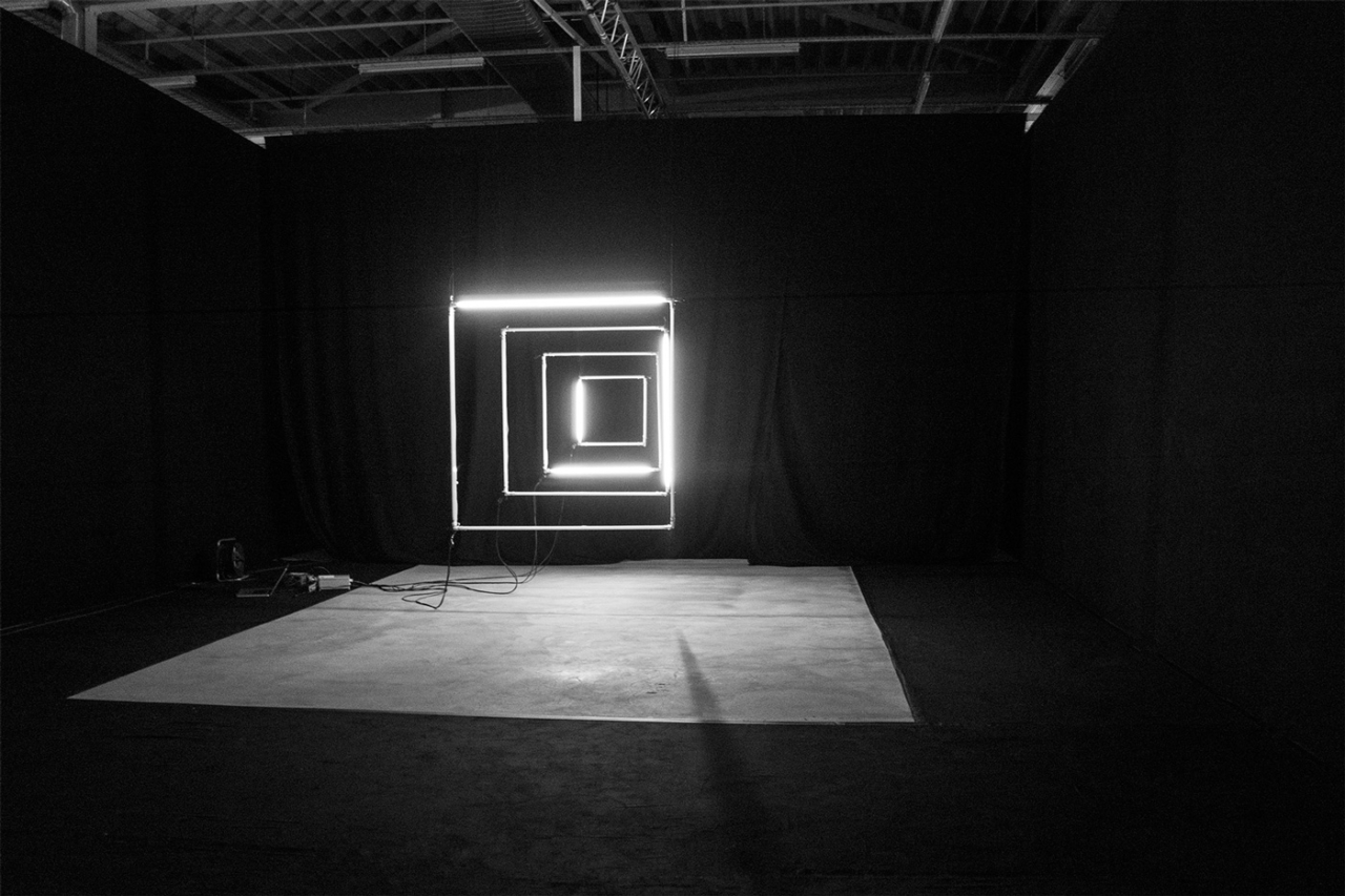 Julian Henschel Graphicdesign & Art Direction HUGO Lichtinstallation