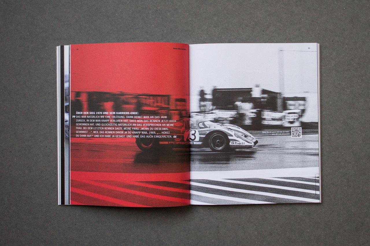 Julian Henschel Graphicdesign & Art Direction Porsche Mission 2014. Our Return